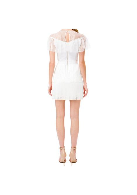 Mini dress in sheer lace fabric ELISABETTA FRANCHI |  | AB03311E2360