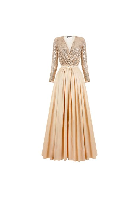 Red Carpet outfit with sequin bodysuit and taffeta skirt ELISABETTA FRANCHI |  | BG00111E2Q61