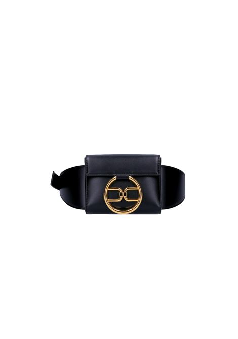 Marsupio con logo dorato ELISABETTA FRANCHI | Borsa | BM03A11E2110