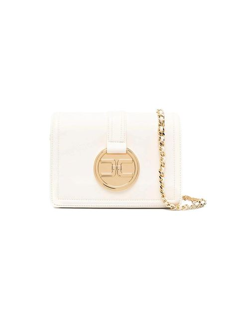 Shoulder bag with golden pendant logo ELISABETTA FRANCHI |  | BS06A11E2193