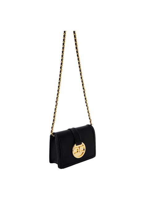 Shoulder bag with golden pendant logo ELISABETTA FRANCHI |  | BS25A11E2110