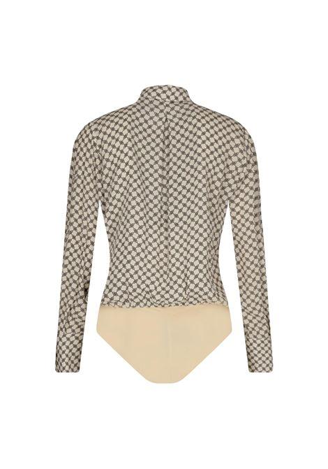 graphic-print shirt bodysuit ELISABETTA FRANCHI |  | CB01411E2E84