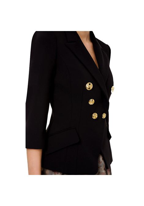 Short jacket with light gold buttons ELISABETTA FRANCHI |  | GI97011E2110