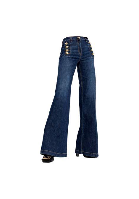 Palazzo jeans by Elisabetta Franchi ELISABETTA FRANCHI | Jeans | PJ99D11E2104