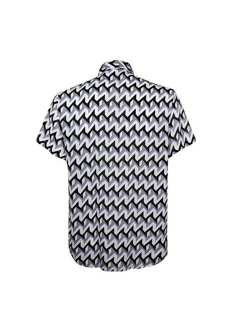 Short-sleeved shirt in optical print modal EMPORIO ARMANI |  | 3K1CB9 1NYMZF607