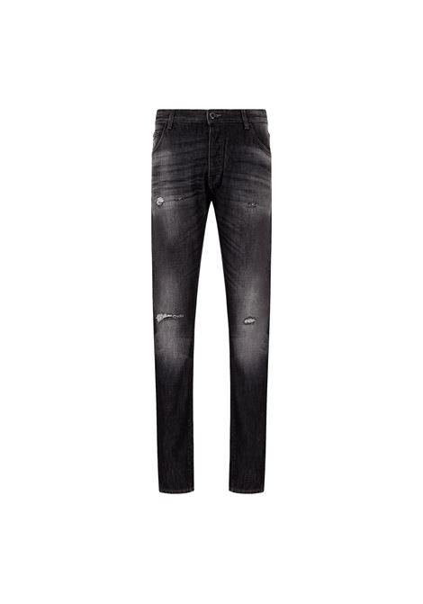 J09 slim tapered jeans in denim with tears EMPORIO ARMANI |  | 3K1J09 1DX4Z0006