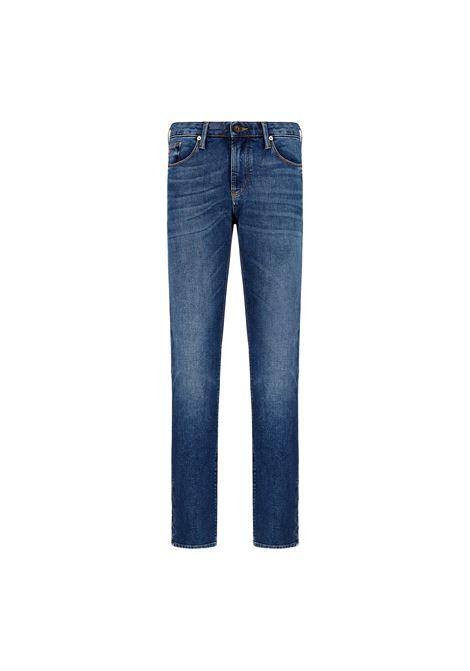 Jeans J06 slim fit in denim washed EMPORIO ARMANI |  | 3K1J75 1DY0Z0942