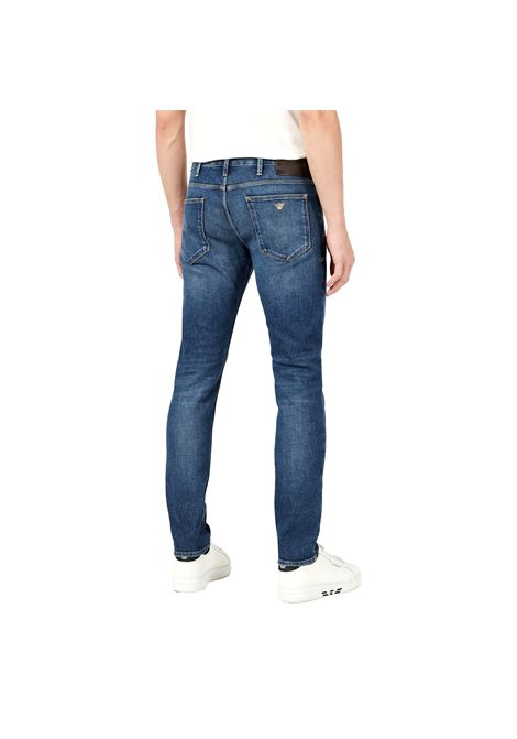 Jeans J06 slim fit in denim washed EMPORIO ARMANI | Jeans | 3K1J75 1DY0Z0942