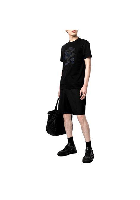 T-shirt con ricamo camouflage EMPORIO ARMANI | T-shirt | 3K1TM6 1JDXZ0999