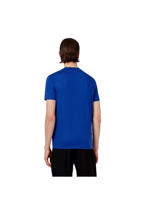 T-Shirt in jersey con patch camouflage e ricamo eagle EMPORIO ARMANI | T-shirt | 3K1TM7 1JDXZ0921