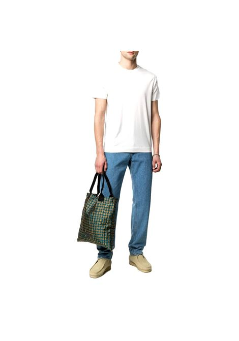 T-Shirt in cotone con logo ricamato EMPORIO ARMANI | T-shirt | 3K1TR5 1JUVZ0162