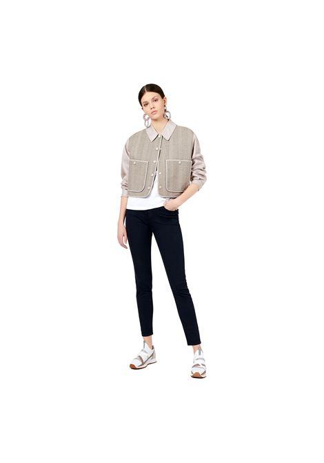 Jeans J20 skinny fit in comfort denim tinto capo minerale EMPORIO ARMANI | Jeans | 3K2J20 2N8HZ0926