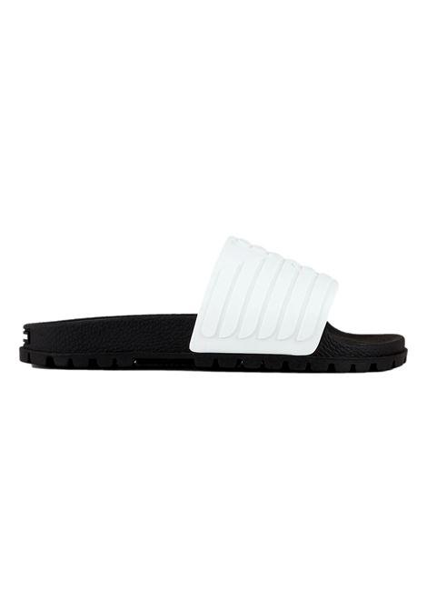 Sliders con maxi aquila a rilievo EMPORIO ARMANI | Sandalo | X4P110 XM855D611