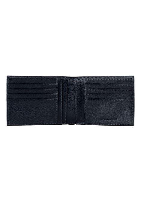 Gift box con portafoglio e portachiavi in pelle bottalata EMPORIO ARMANI | Portafoglio | Y4R222 YEW1E80033