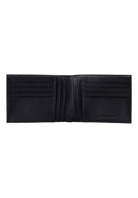 Gift box con portafoglio e portachiavi in pelle bottalata EMPORIO ARMANI | Portafoglio | Y4R222 YEW1E81072