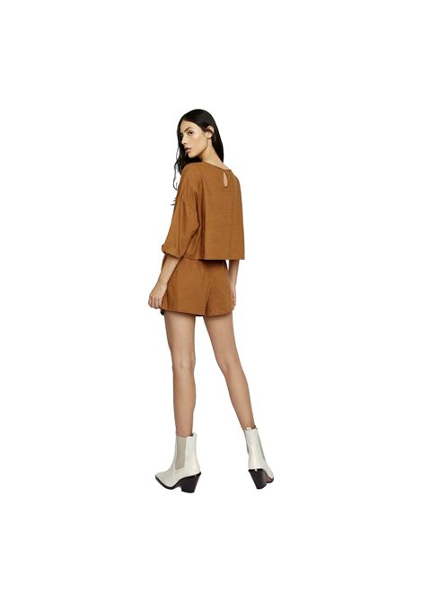 Brown Jersey Shorts GLAMOROUS |  | AN3903BROWN