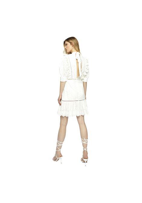 White Broderie Tie Back Mini Dress GLAMOROUS |  | GC0370WHITE
