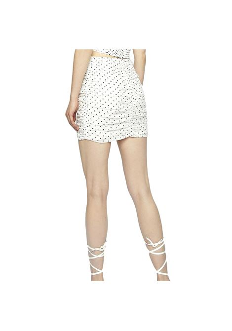 White Heart Gingham Ruched Mini Skirt GLAMOROUS |  | GC0374WHITE
