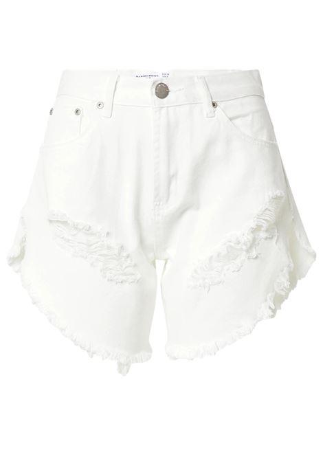 white  High Rise Distressed Denim Shorts GLAMOROUS |  | KA6744WHITE