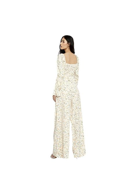 White orange floral trousers GLAMOROUS |  | KA6803ORANGE