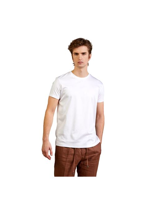 T-SHIRT IN COTONE MERCERIZZATA OUTFIT | T-shirt | OF1CT00T007100