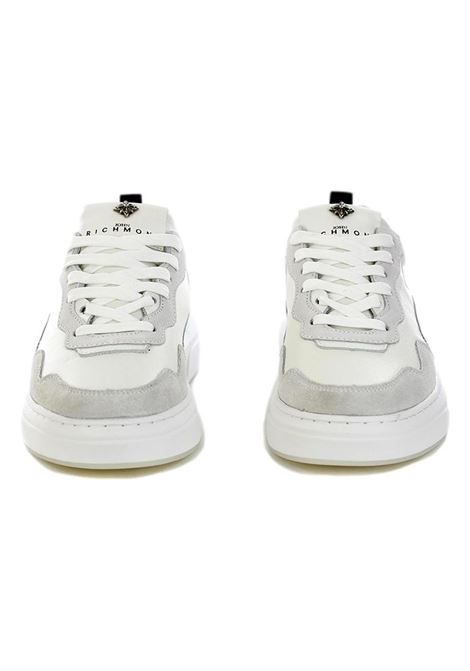 JOHN RICHMOND SNEAKERS IN WHITE LEATHER AND SUEDE RICHMOND JOHN |  | 10117 CPA