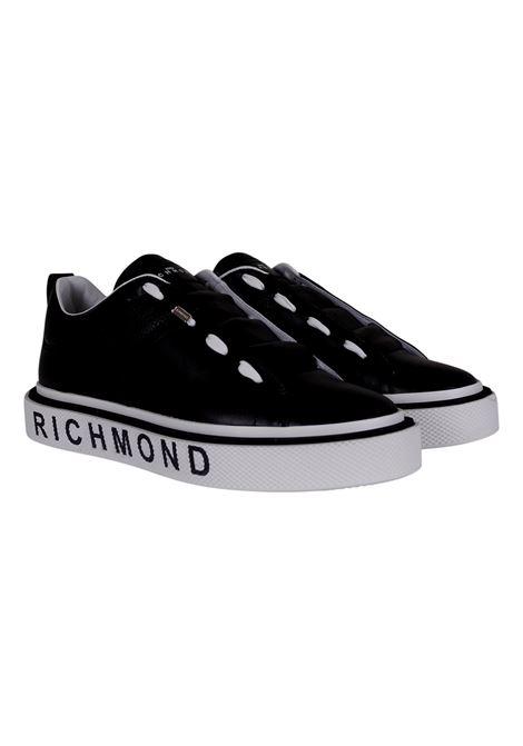 JOHN RICHMOND SNEAKERS IN BLACK LEATHER RICHMOND JOHN |  | 10167A