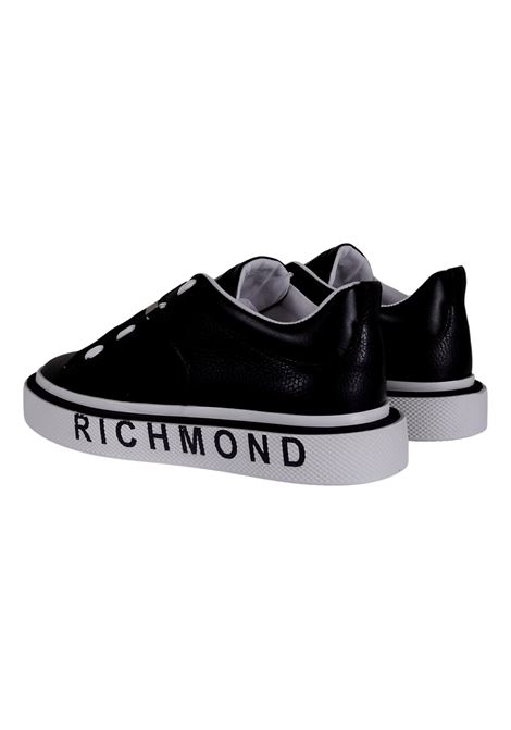 JOHN RICHMOND SNEAKERS IN BLACK LEATHER RICHMOND JOHN |  | 10167A