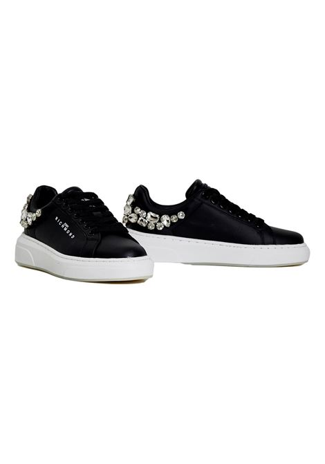 sneakers with swarovski RICHMOND JOHN |  | 10216B