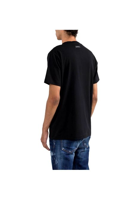 t-shirt minusta RICHMOND JOHN |  | RMP21007TSA8BLACK