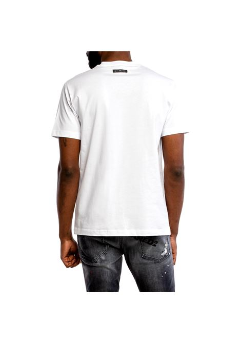 t-shirt minusta RICHMOND JOHN |  | RMP21007TSA8WHITE