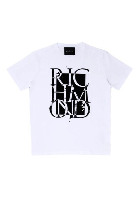 T-SHIRT oklabia RICHMOND JOHN | T-shirt | RMP21022TSA8WHITE