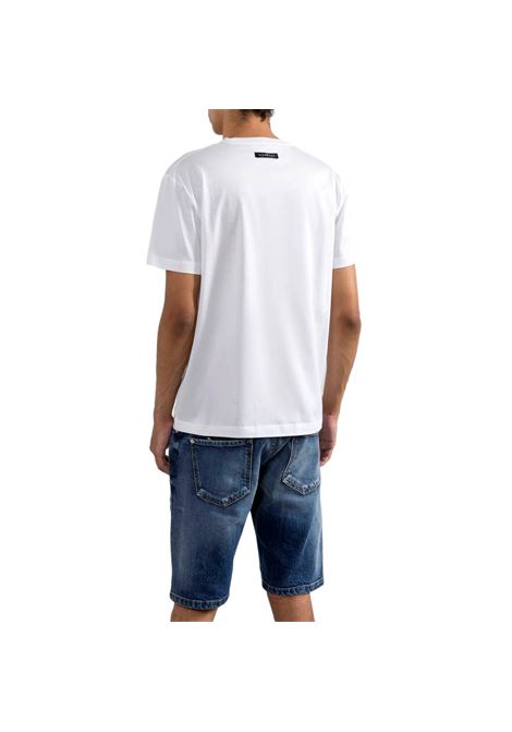 t-shirt logata winkusa RICHMOND JOHN | T-shirt | RMP21024TSA8WHITE