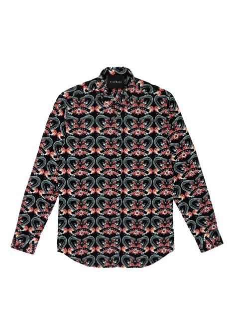 print shirt viridian RICHMOND JOHN |  | RMP21090CAPUH.A.T.SNAK
