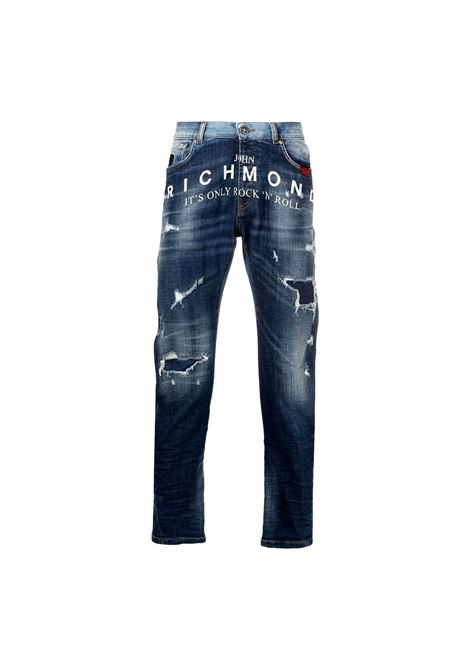 Mick distressed effect jeans RICHMOND JOHN |  | RMP21127JE9GD.BLUE