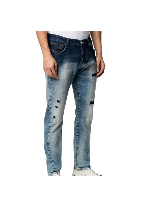 Slim jeans with a worn effect merryt(mick) RICHMOND JOHN |  | RMP21128JE9GD.BLUE