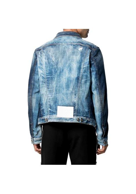 giubbino di jeans gonagali RICHMOND JOHN | Jacket | RMP21144GB9GD.BLUE