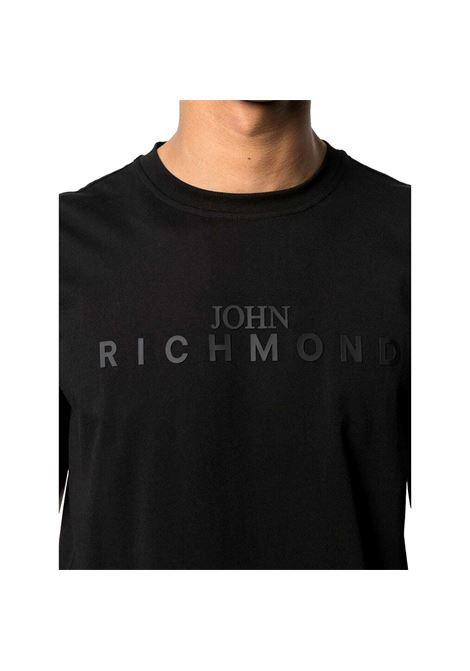 t-shirt federick RICHMOND JOHN |  | RMP21182TSHBBLACK