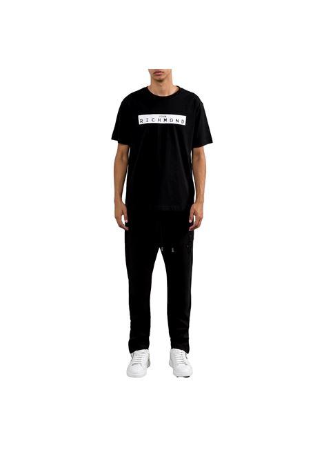 t-shirt trebe RICHMOND JOHN |  | RMP21200TSXXBLACK