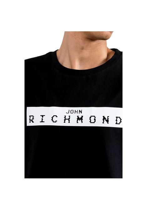 t-shirt trebe RICHMOND JOHN | T-shirt | RMP21200TSXXBLACK