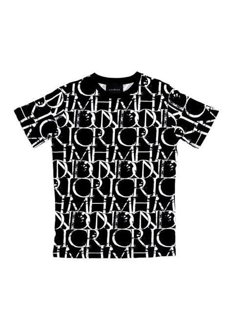 t-shirt harbori RICHMOND JOHN |  | RMP21211TSHBGR.BLK/WHT