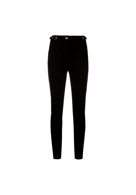 buckle-detail slim-cut trousers VERSACE JEANS COUTURE |  | A1HWA109 11708899