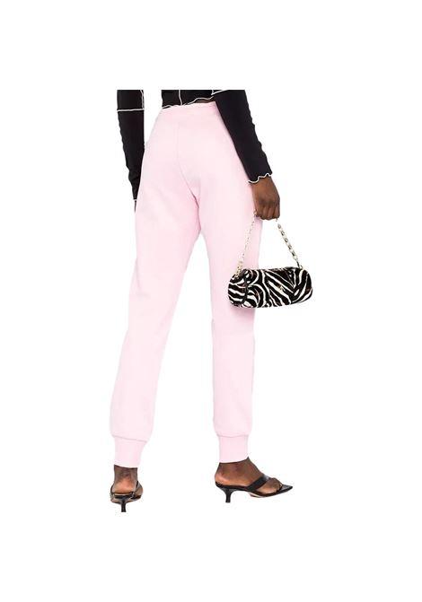 pantalone sportivo in cotone stampa logo VERSACE JEANS COUTURE | Pantaloni | A1HWA1TA 30318402