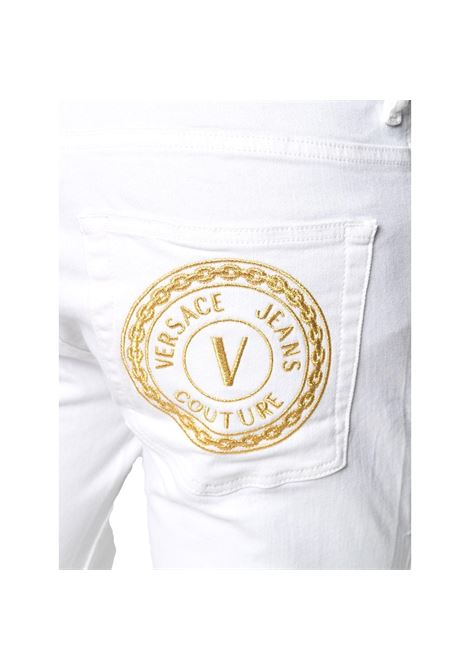 logo embroidered slim cut jeans VERSACE JEANS COUTURE |  | A2GWA0S5 60501003