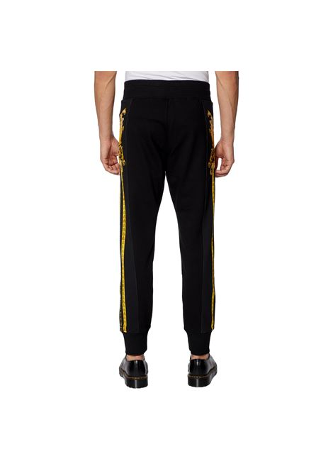 pantalone con motivo  barocco VERSACE JEANS COUTURE | Pantaloni | A2GWA1F7 13988899