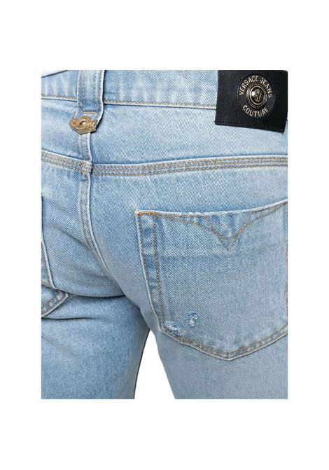 distressed denim shorts VERSACE JEANS COUTURE |  | A4GWA17I AOK5Z904