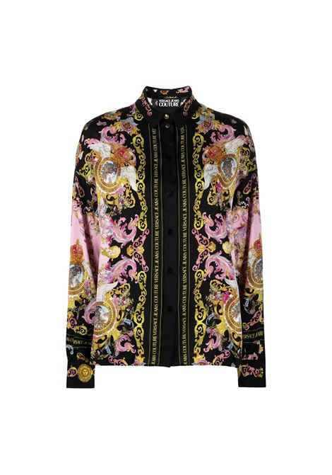 shirt with baroque print and logo VERSACE JEANS COUTURE |  | B0HWA601 S0229O16