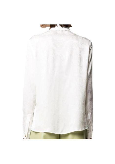 camicia logo barocco tono su tono VERSACE JEANS COUTURE | Camicia | B0HWA628 09475005