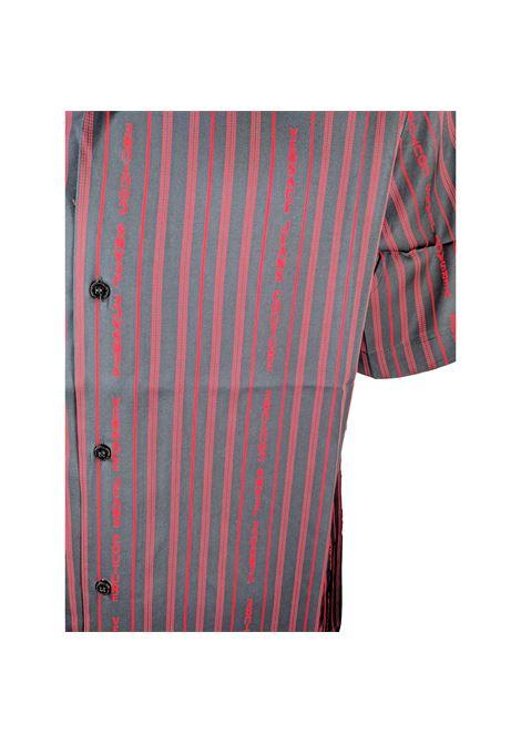 striped logo short-sleeved shirt VERSACE JEANS COUTURE |  | B1GWA6B1 S0985899