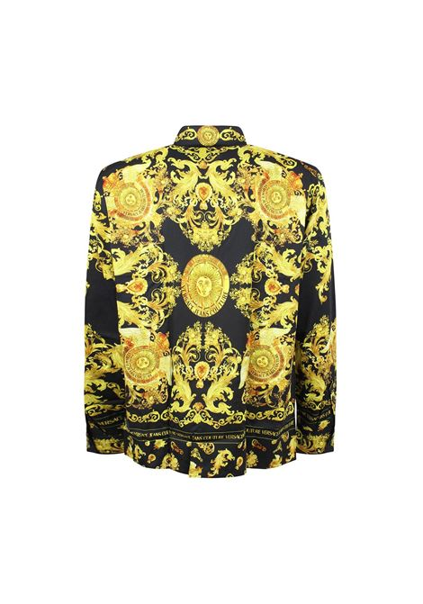 shirt with baroque print VERSACE JEANS COUTURE |  | B1GWA6R3 S0273899